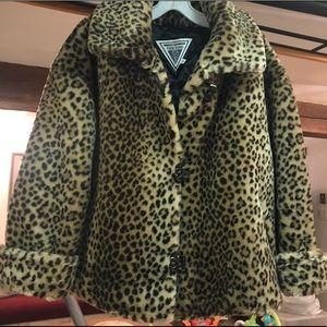 Animal print coat - Marvin Richards
